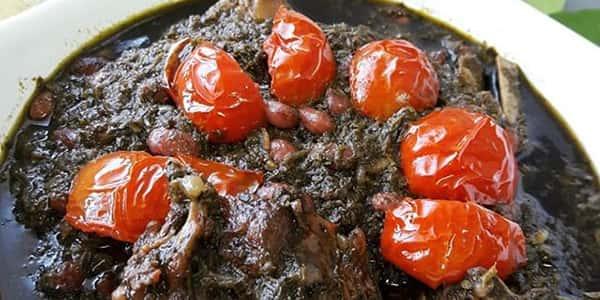 طرز تهیه خورش قورمه سبزی گیلانی , دستور پخت خورشت قورمه سبزی گیلانی شمالی