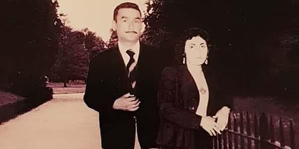 عکس پدر و مادر مرجانه گلچین , عکس پدر مرجانه گلچین