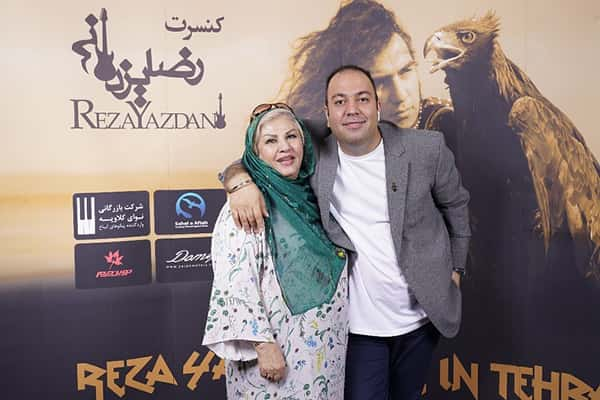 علی اوجی و مادرش , علی اوجی و مامانش , عکس مامان علی اوجی