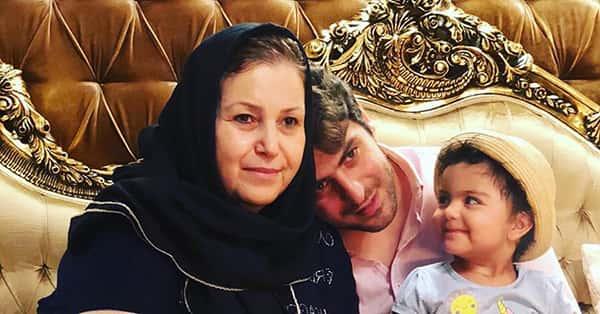 علی ضیا و مادرش , عکس مامان علی ضیا مجری تلویزیون
