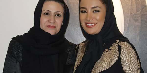 عکس بهاره افشاری و مادرش , بهاره افشاری و مامانش , عکس مادر بهاره افشاری