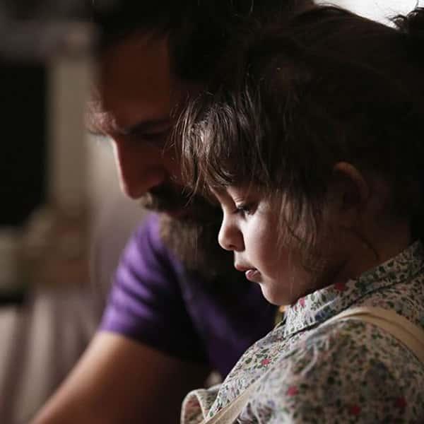 عکس هومن سیدی و دخترش , هومن سیدی و فرزندش , عکس دختر هومن سیدی
