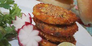 طرز تهیه شامی مرغ
