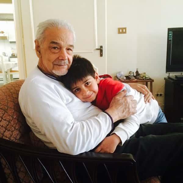 عکس سیما تیرانداز و پدرش , تصویر سیما تیرانداز و باباش , عکس پدر سیما تیرانداز