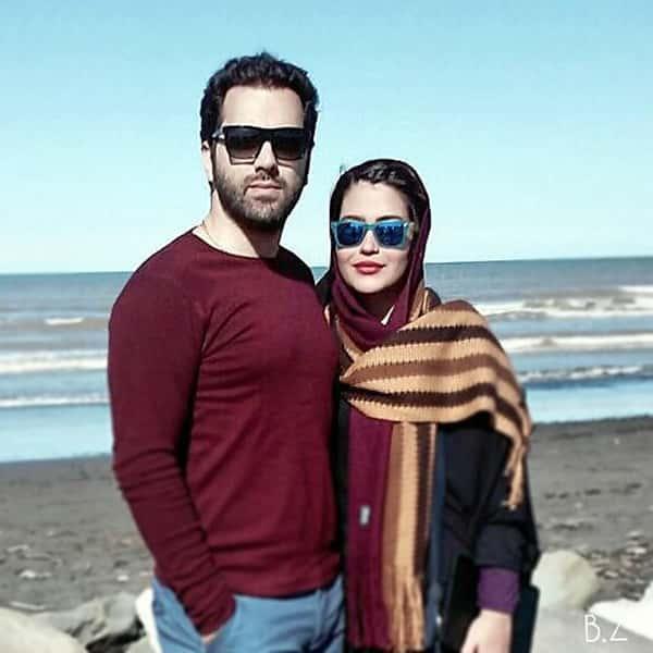 عکس بهادر زمانی و همسرش , بهادر زمانی و زنش , همسر بهادر زمانی