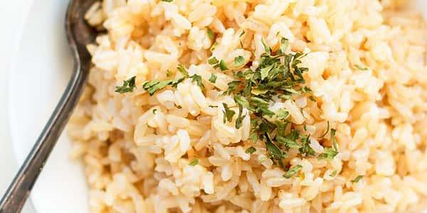 طرز تهیه برنج قهوه ای گلستان , دستور پخت برنج قهوه ای و سبزیجات , xvc jidi fvk ri hd