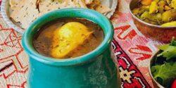 طرز تهیه اشکنه اصیل اصفهانی خوشمزه با شنبلیله و تخم مرغ