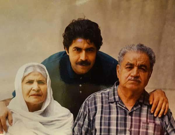 عکس فرهاد اصلانی و پدر و مادرش , فرهاد اصلانی و بابا و مامانش , عکس پدر و مادر فرهاد اصلانی