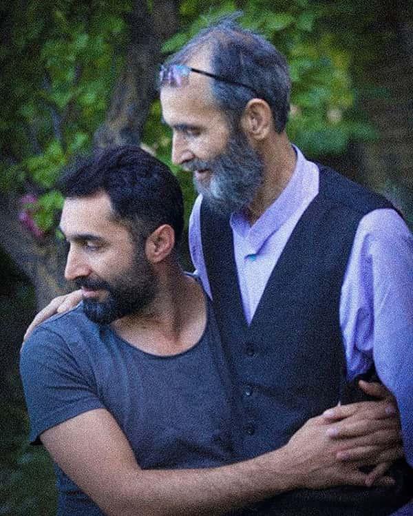 عکس هادی کاظمی و پدرش , هادی کاظمی و باباش , عکس پدر هادی کاظمی