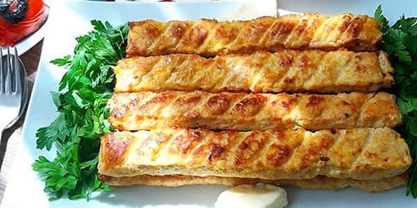 طرز تهیه کباب کوبیده مرغ در فر با دنبه , دستور پخت کباب کوبیده مرغ دنبه گوسفندی در تابه ماهیتابه , xvc jidi fhfh fdni lvy