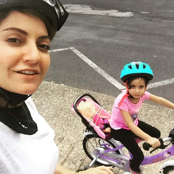 عکس مهناز افشار و دخترش , مهناز افشار و فرزندش , لیانا دختر مهناز افشار