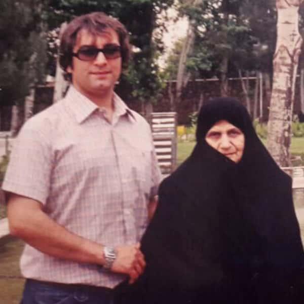 عکس مجید صالحی و مادرش , مجید صالحی و مامانش , ع مجید صالحی