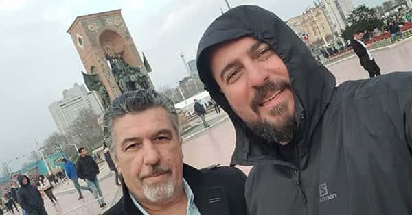 عکس محسن کیایی و پدرش , محسن کیایی و باباش , عکس پدر محسن کیایی