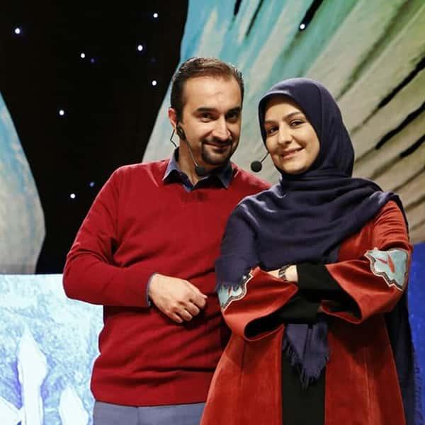 عکس نیما کرمی و همسرش , نیما کرمی و زنش , زینب زارع و همسرش نیما کرمی