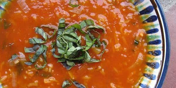 طرز تهیه سوپ گوجه فرنگی با ورمیشل , دستور پخت سوپ گوجه فرنگی رژیمی , xvc jidi s i tvk d
