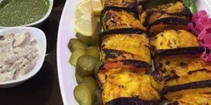 طرز تهیه کباب ماهی شیر