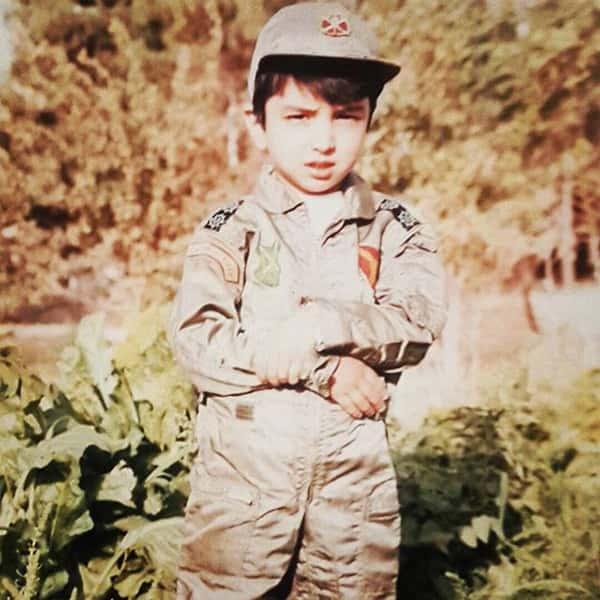 عکس کودکی کاوه خداشناس , تصویر بچگی کاوه خداشناس , عکس نوجوانی کاوه خداشناس