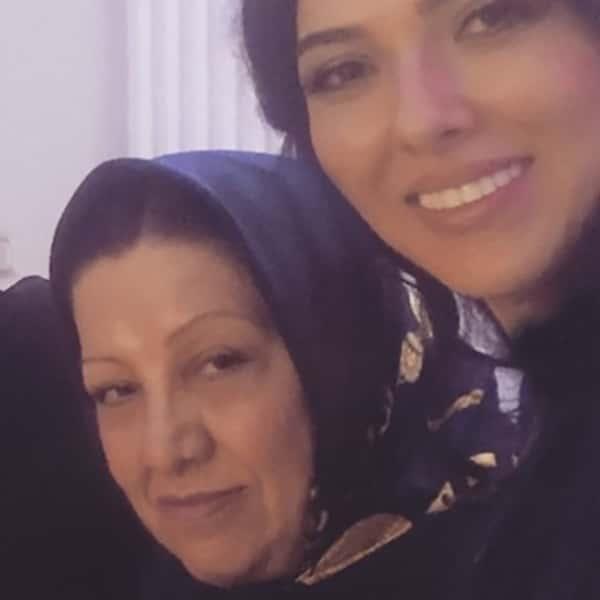 عکس لیلا اوتادی و مادرش , لیلا اوتادی و مامانش , عکس مادر لیلا اوتادی