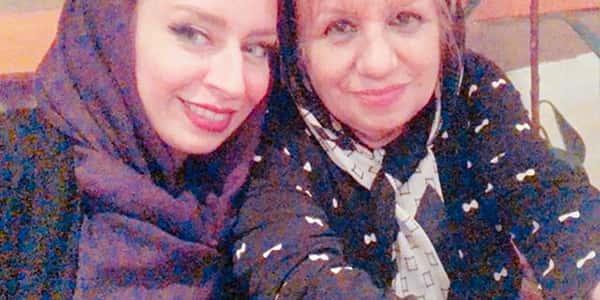عکس ماندانا سوری و مادرش , تصویر ماندانا سوری و مامانش , مادر ماندانا سوری