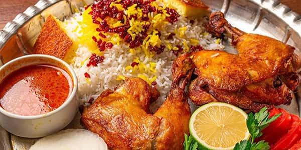 طرز تهیه زرشک پلو با مرغ رستورانی مخلوط , دستور پخت زرشک پلو با مرغ و هویج دونفره ریش ریش , xvc jidi cva g fh lvy