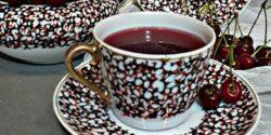 طرز تهیه چای آلبالو خوشرنگ و خوشمزه به روش سنتی