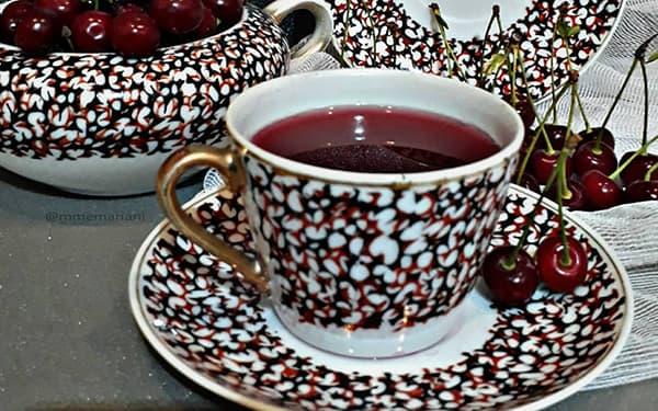 طرز تهیه چای آلبالو نشان در بارداری کالری چای آلبالو چای ترش خشک خانگی خواص آن در منزل سوران طبیعی